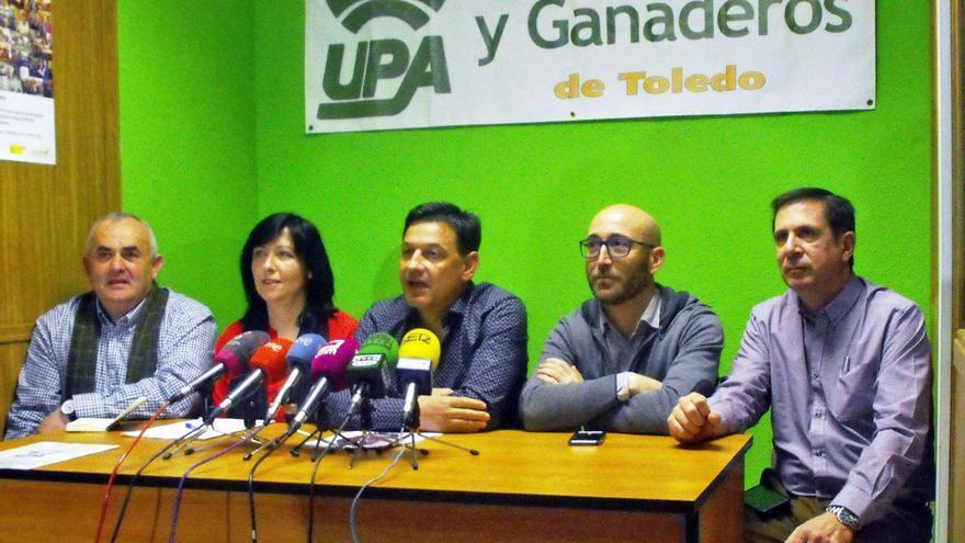 Rueda de prensa de UPA, hoy en Talavera