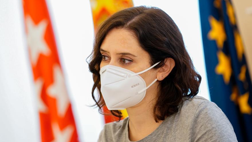La presidenta de la Comunida de Madrid, Isabel Díaz Ayuso.