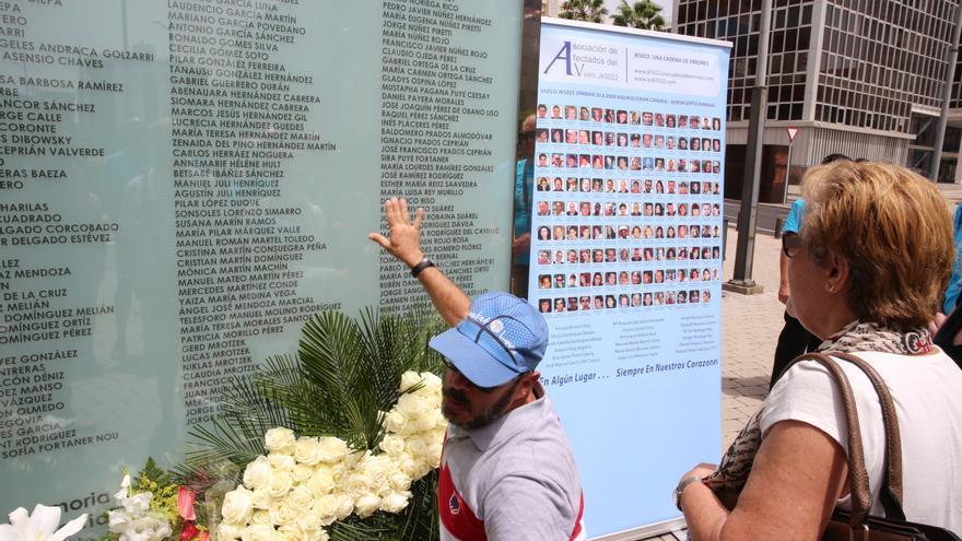 Noveno aniversario en Gran Canaria del accidente de Spanair