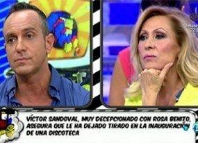 Víctor Sandoval congela a Chayo Mohedano y da más detalles del despido de Rosa Benito