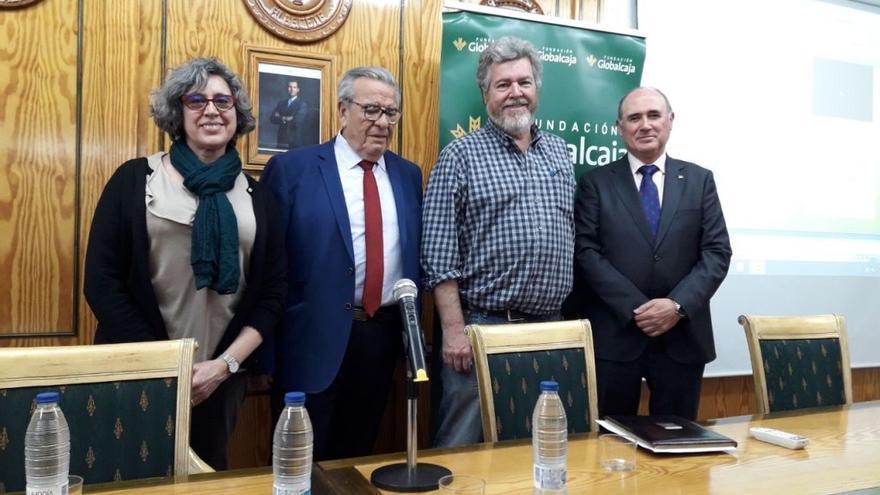López de Uralde durante una reunión en Albacete