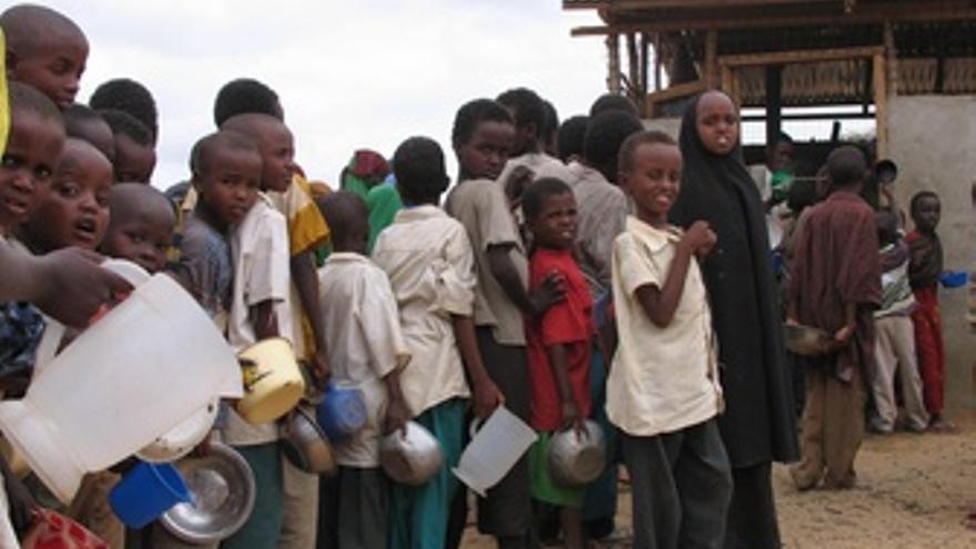 Hambruna en el Cuerno De África. (EUROPA PRESS)