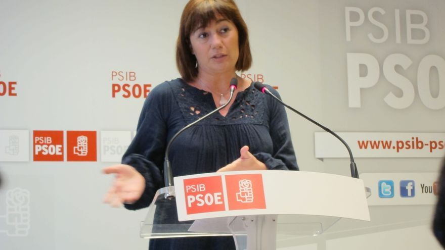 """Armengol ve un error que el Congreso sea """"tan tarde"""" y pide discutir y votar sobre las """"dos formas de entender el PSOE"""""""