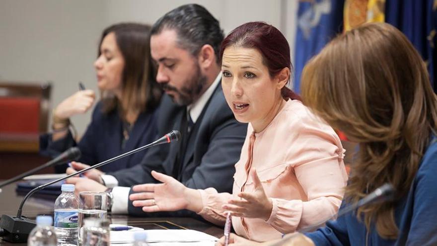La consejera de Empleo, Políticas Sociales y Vivienda del Gobierno de Canarias, Patricia Hernández.