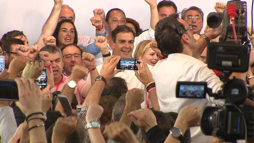 Pedro Sánchez cerrará el Congreso del PSOE ante 8.000 militantes y simpatizantes