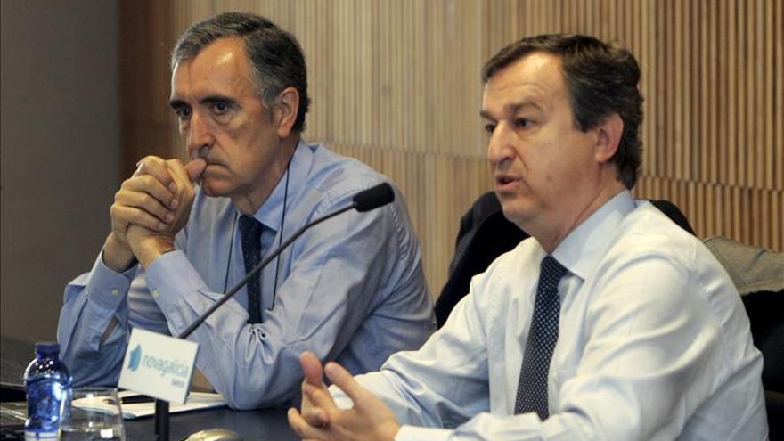 Novagalicia Banco, listo para su venta a extranjeros, según su presidente