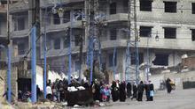 La localidad asediada siria de Madaya teme la meningitis