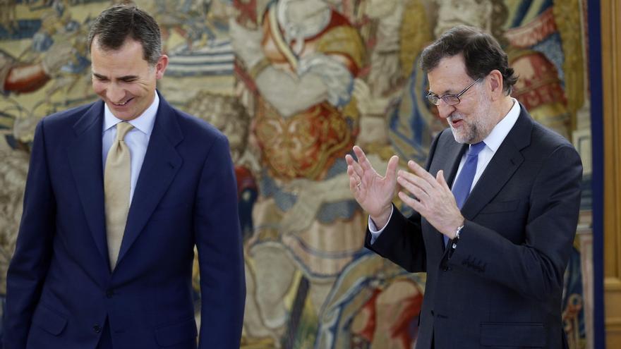 Rajoy abandona la Zarzuela y el Rey convoca a Patxi López para comunicarle el resultado de la ronda