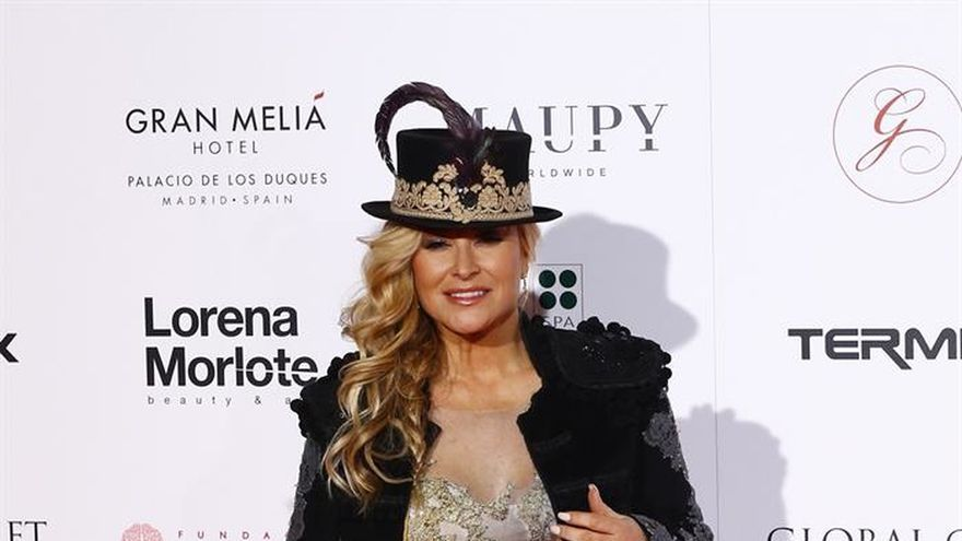 Anastacia, anfitriona de honor en la ceremonia de la Global Gift de Madrid