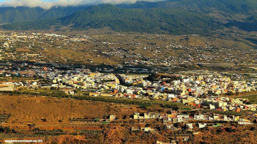 Panorámica de Los Llanos de Aridane. Foto: palmerosenelmundo.com
