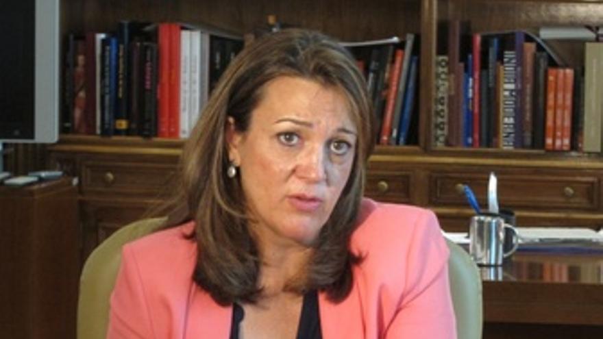 Soraya Rodríguez, portavoz del Grupo Socialista