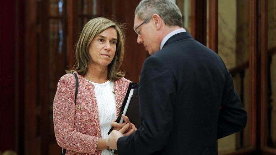 Mato, Gallardón y Fernández se reúnen para reforzar la protección a las víctimas