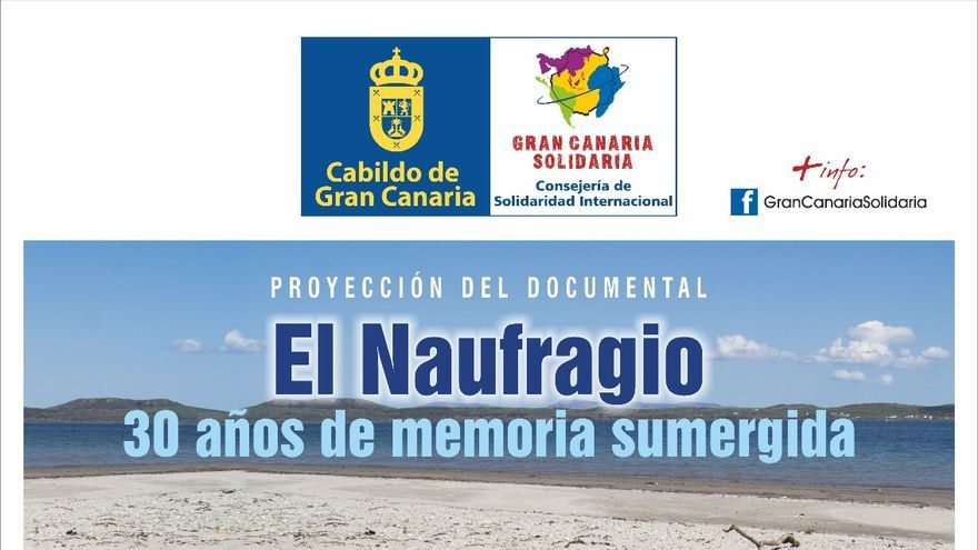 Cartel de el documental 'El naufragio'