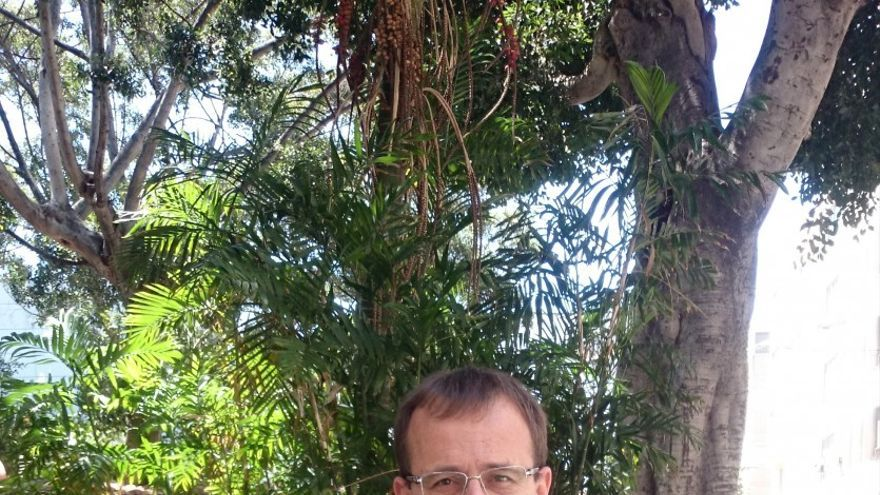 Ramón Trujillo, candidato de Izquierda Unida a la Presidencia del Gobierno de Canarias