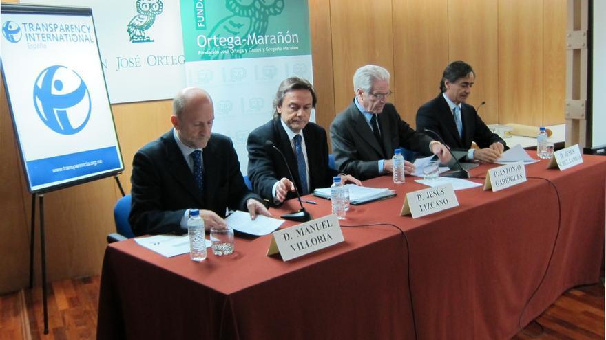 """Transparencia Internacional pide a los partidos que den """"un paso adelante"""" y se incluyan en la Ley de Transparencia"""