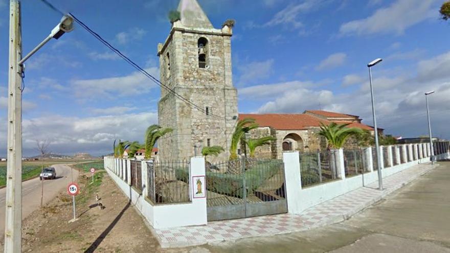 Iglesia de Santa Margarita, en Mengabril / Google Maps