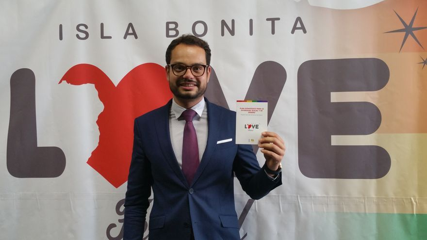Jordi Pérez Camacho es el impulsor del Love Festival. Foto: LUZ RODRÍGUEZ.