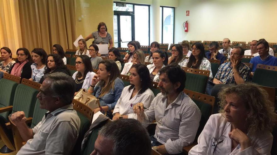 Con motivo del Día Europeo para el Uso Prudente de Antibióticos, se han desarrollado sesiones formativas. En la imagen de archivo,  un acto celebrado en el Hospital  General de La Palma.