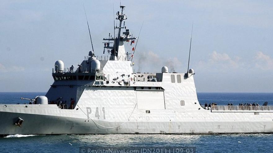 Resultado de imagen de Buque de Acción Marítima (BAM) Meteoro