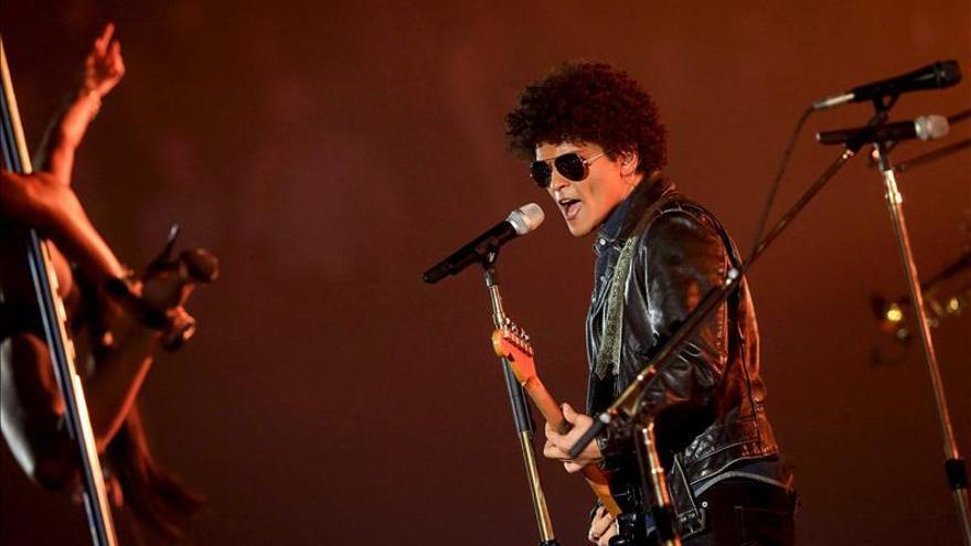 Amor a primera vista entre Bruno Mars y el público español