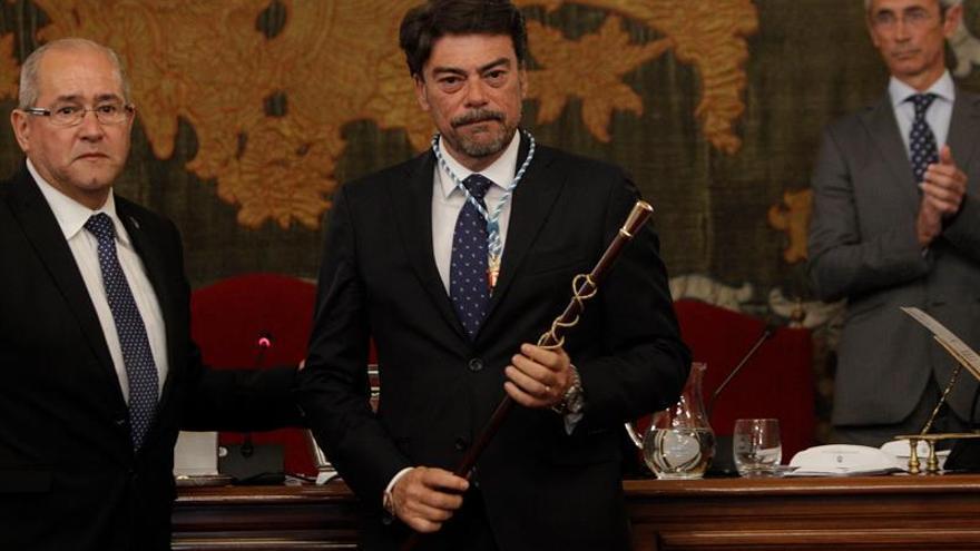 El nou alcalde d'Alacant, Luis Barcala
