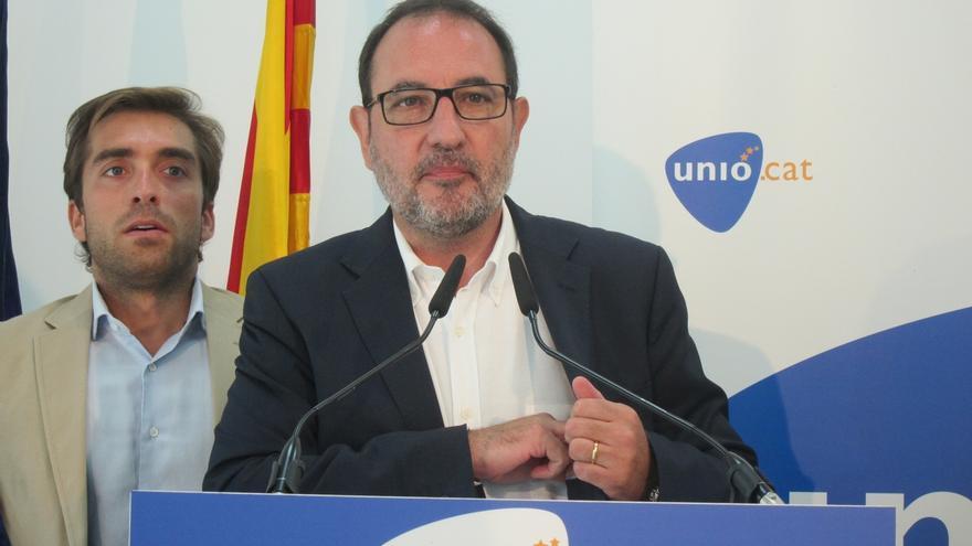 """Espadaler: """"Nunca estaremos supliendo o representando al PP en Cataluña"""""""