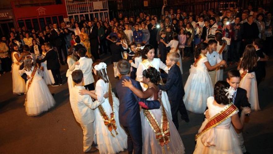 Imagen de uno de los actos de las fiestas de Vilafranca del año 2017.