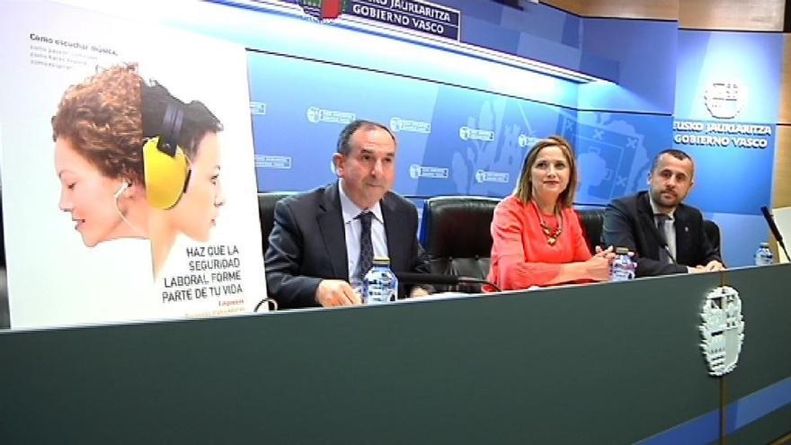 """Gobierno vasco pide avanzar en la negociación colectiva para """"mejorar las condiciones de trabajo"""" ligadas a la seguridad"""