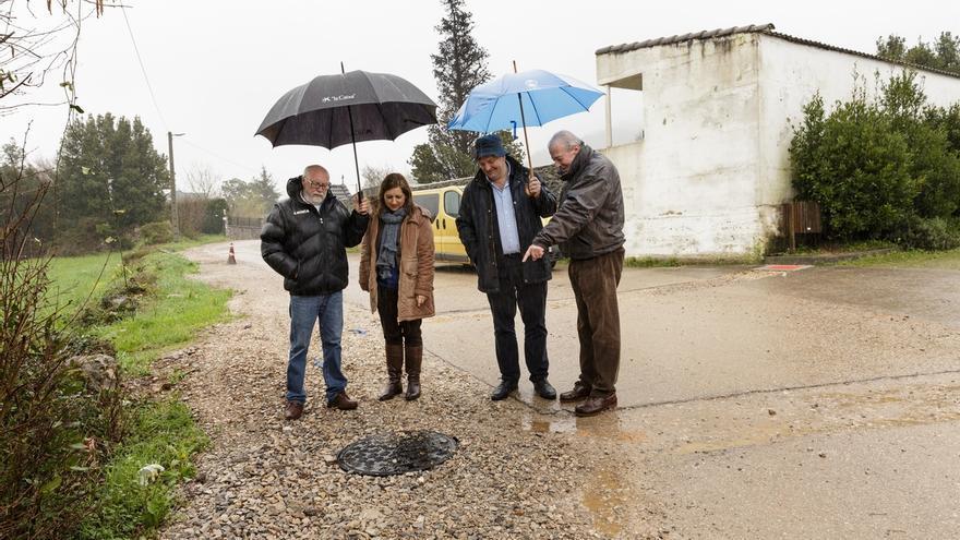 Las obras de abastecimiento y saneamiento entre Liaño y La Concha, listas en la primera quincena de abril