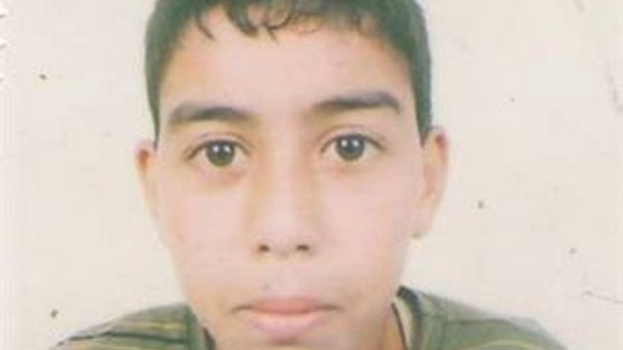 El menor saharaui fallecido.