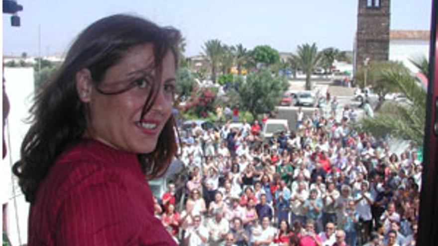 Claudina Morales, actual presidenta de CC. (CANARIAS AHORA)