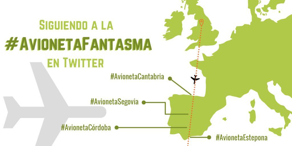 Siguiendo la#AvionetaFantasmaen Twitter