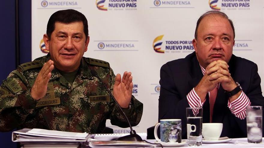 Al menos ocho guerrilleros del ELN mueren en una operación del Ejército colombiano