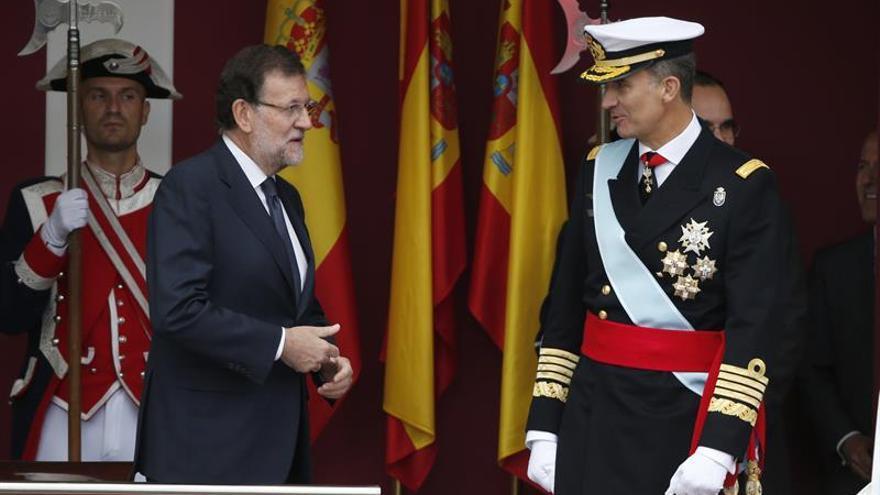 Primer 12 de octubre con un Gobierno en funciones, una gestora en el PSOE y sin Podemos