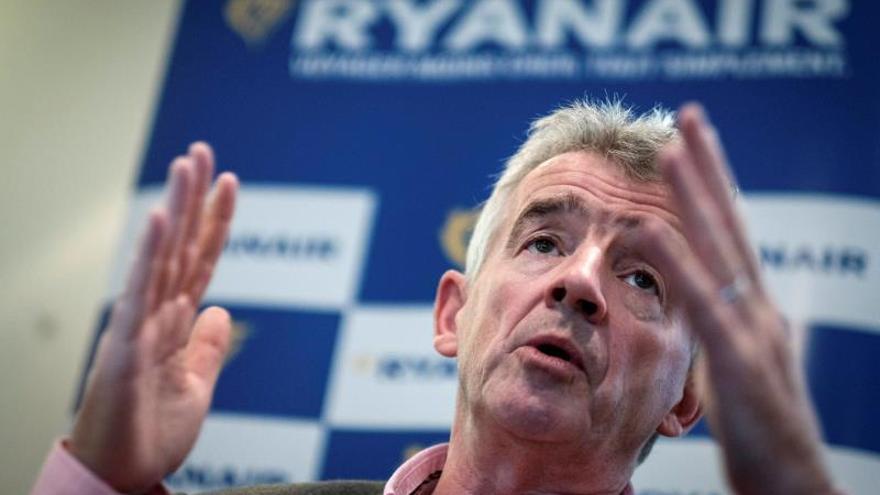 El consejero delegado de la aerolínea irlandesa Ryanair, Michael O'Leary.