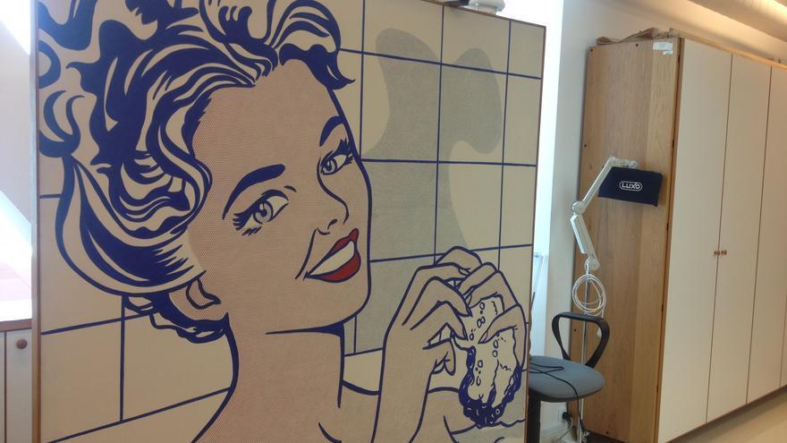 La icónica 'Mujer en el baño', de Roy Lichtenstein, formará parte de la próxima exposición 'Mitos del pop'.