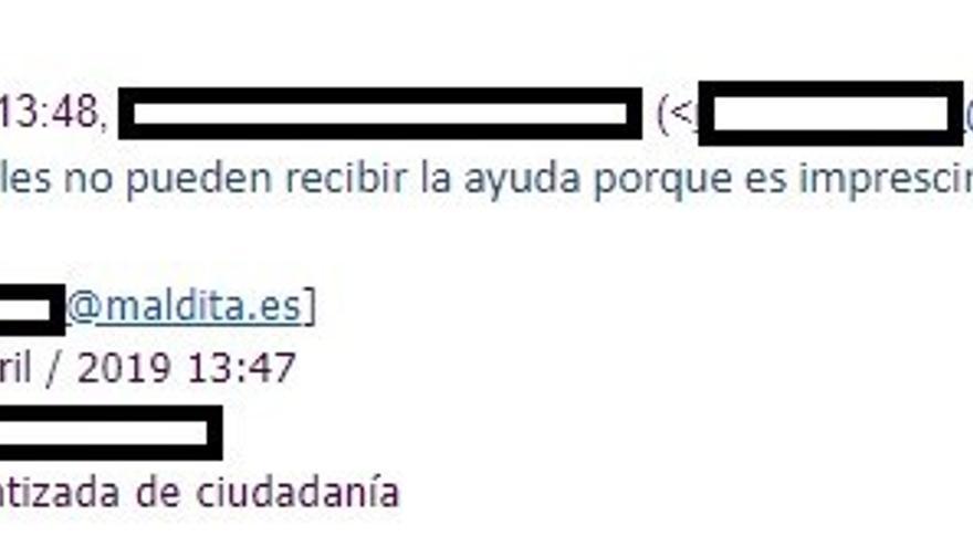"""os """"inmigrantes ilegales"""" no pueden acceder a la Renta Garantizada de Cataluña. Así nos lo confirman desde el Departamento de Trabajo de la Generalitat de Cataluña"""