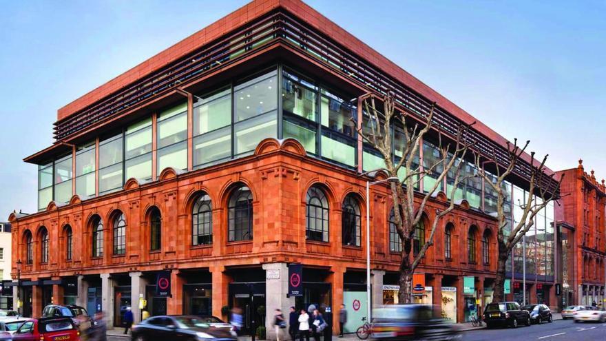 El edificio de la Sloane Avenue, en Londres, que fue adquirido con el dinero para la caridad.