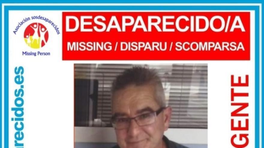 José Rodríguez Benítez, desaparecido en Gran Canaria.