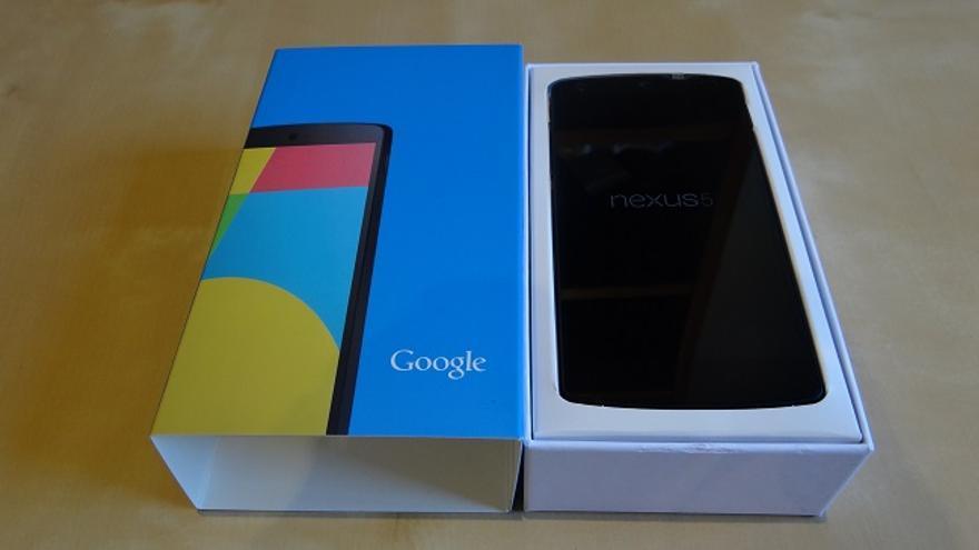 Nexus 5 y su caja