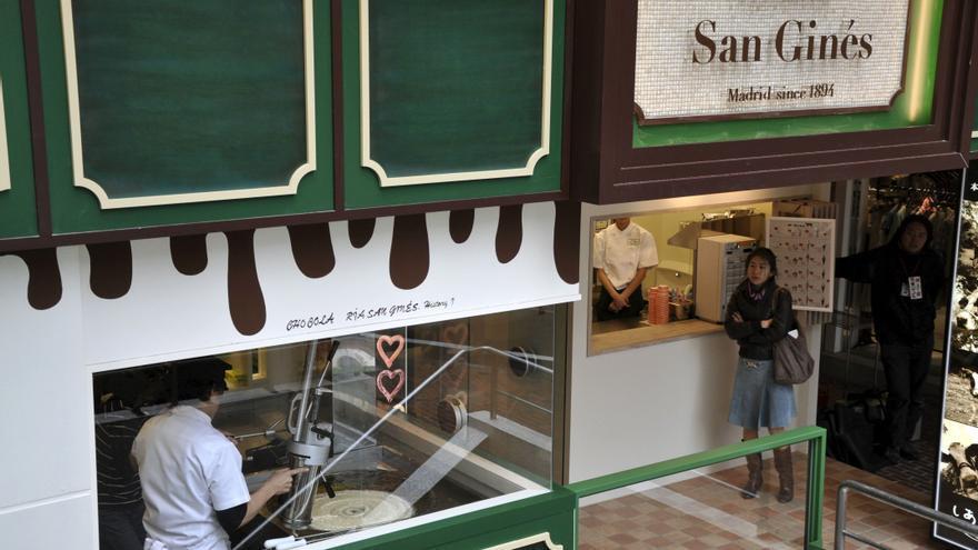 La madrileña churrería San Ginés llega a China con ambición de ser una cadena