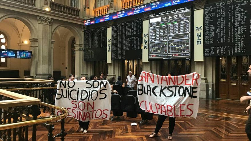 Image result for la PAH contra blackstone buitres