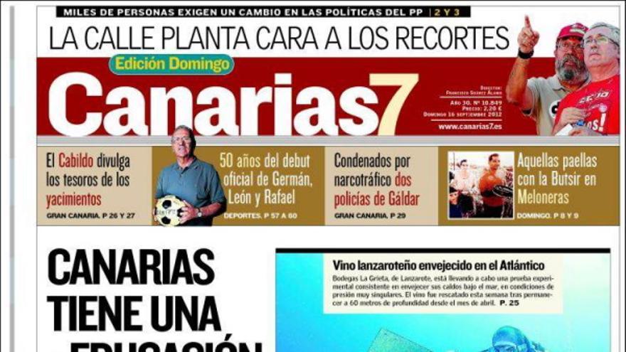 De las portadas del día (16/09/2012) #2