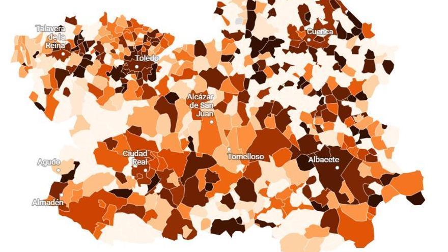 Albacete, entre las cien ciudades con mayor incidencia del coronavirus de España