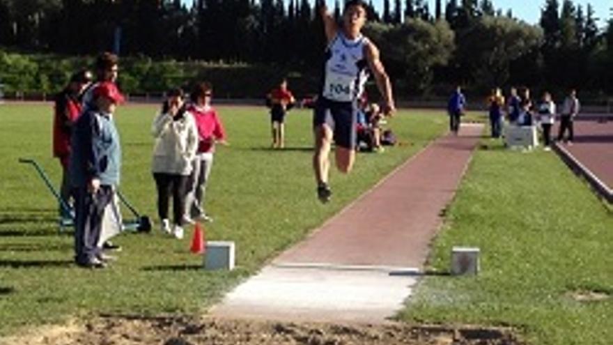 Carlos Pérez. (Foto: Club Atletismo Tenerife CajaCanarias)