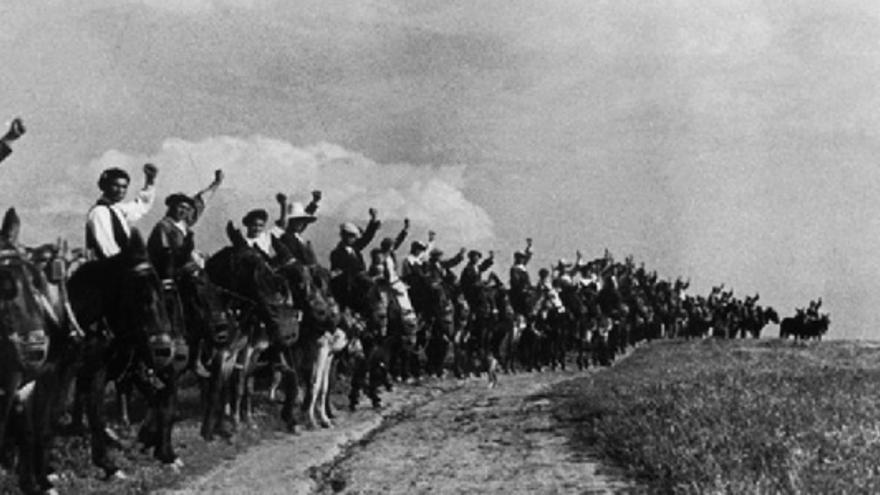 Campesinos sin tierra ocuparon fincas durante la República.