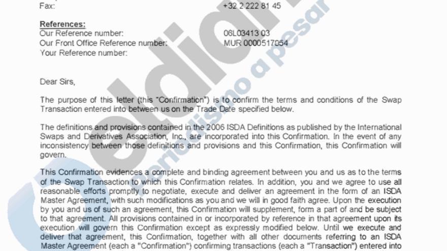 Los contratos de los productos financieros de la era Gallardón que ya han costado 247 millones.