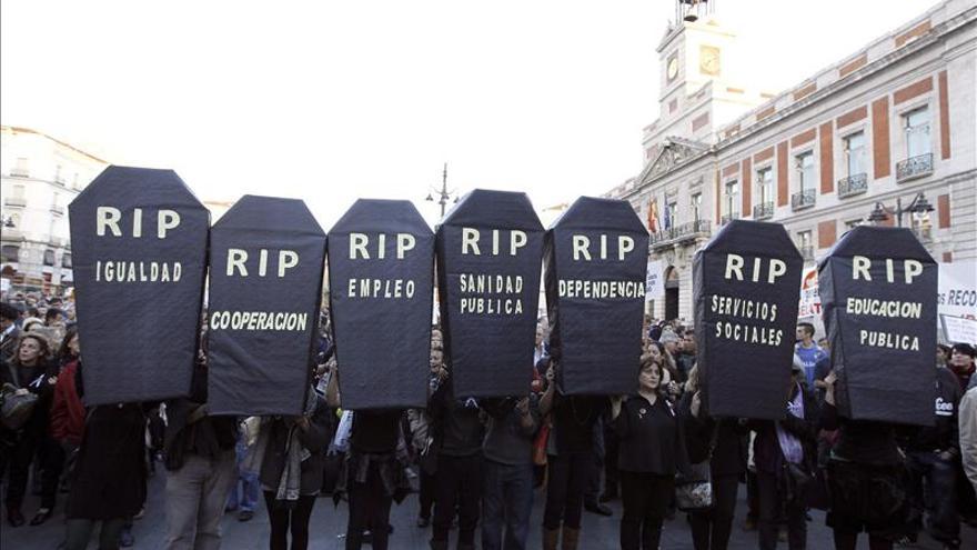 La Alianza contra la Pobreza convoca manifestaciones en más de 30 ciudades