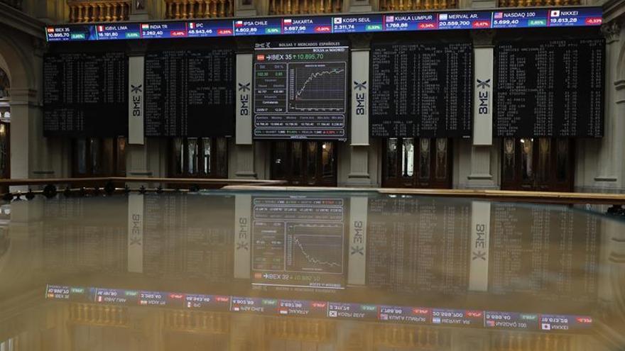 La Bolsa española abre con un alza del 0,10 por ciento y roza los 10.900 puntos