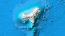 Temblor registrado al suroeste de la isla de El Hierro